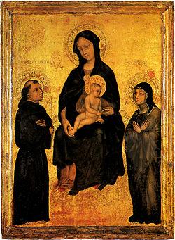 L'amore di Chiara per la Vergine Maria